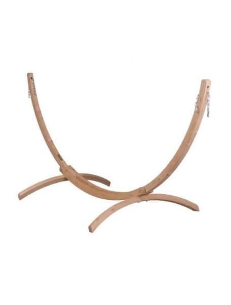 Универсальная стойка из дерева для одноместных гамаков LA SIESTA