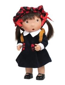 Кукла Tilina (Тилина) - Шотландка