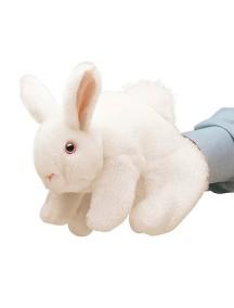 Мягкая игрушка Кролик белый, 20см