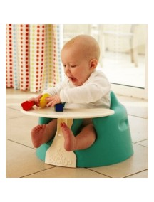 Напольное кресло Bumbo (Бамбо) со столиком для детей от 3 до 14 месяцев (цвет Аква)