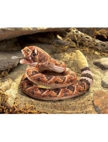 Мягкая игрушка на руку Гремучая змея, 90 см от Folkmanis