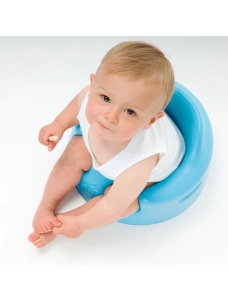 Напольное кресло Bumbo (Бамбо) со столиком для детей от 3 до 14 месяцев (цвет Синий)