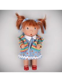 Кукла Tilina (Тилина) - хиппи