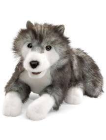 Мягкая игрушка на руку Волк, 46 см от Folkmanis