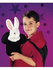 Мягкая игрушка  на руку Большой заяц в шляпе, 36см от Folkmanis