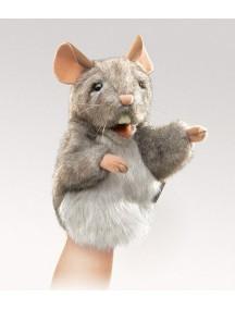 Мягкая игрушка на руку Мышонок,17 см от Folkmanis