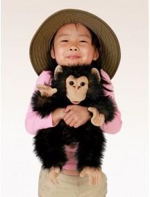 Мягкая игрушка на руку Детеныш шимпанзе, 40 см от Folkmanis