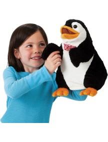 Мягкая игрушка на руку Пингвин с галстуком, 31см от Folkmanis