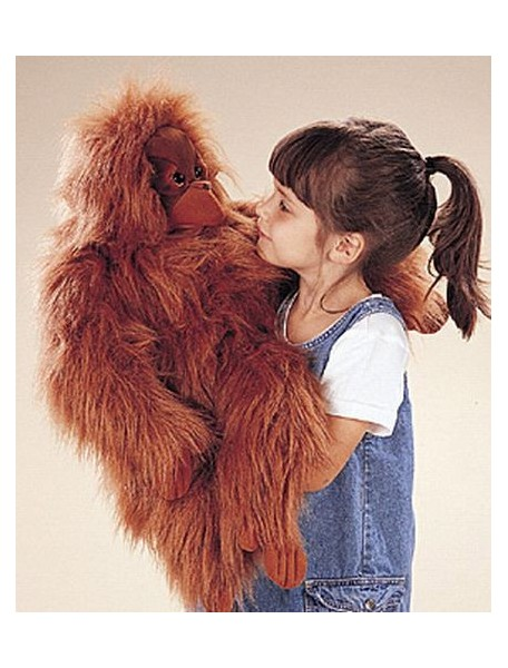 Мягкая игрушка на руку Орангутанг, 63 см от Folkmanis