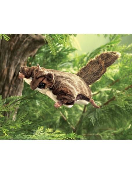 Мягкая игрушка на руку Белка летающая, 38см от Folkmanis