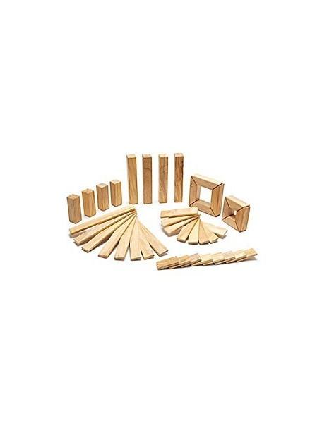Набор Исследователь. 40 деревянных магнитных кубиков. Natural