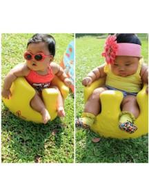 Напольное кресло Bumbo (Бамбо) для детей от 3 до 14 месяцев (цвет Желтый)