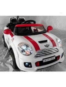 Детский электромобиль Mini Cooper Е777КХ белый Rivertoys
