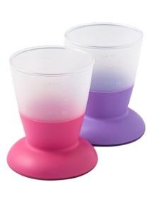 Комплект из 2 кружек BabyBjorn Розовый - Пурпурный