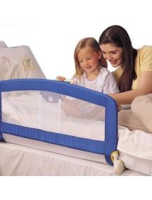 """Барьер защитный для детской кроватки Tomy / """"Folding Bed rail"""" / Синий"""
