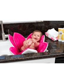 Детская мягкая ванночка Blooming Bath - Розовая