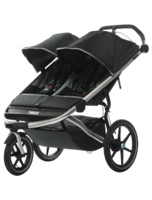 Детская беговая коляска для 2-х детей Thule Urban Glide 2 (Туле Урбан Глайд 2)т/серый, Dark Shadow 2014