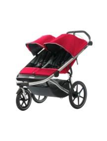 Детская беговая коляска для 2-х детей Thule Urban Glide 2 (Туле Урбан Глайд 2)бордовый, Mars 2015