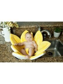 Детская мягкая ванночка Blooming Bath - Желтая