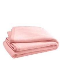 Байковый плед Jollein 100х150 см, цвет светло-розовый
