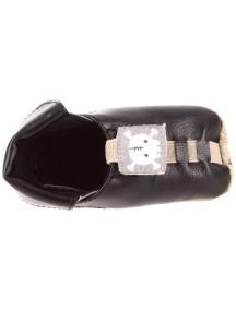 Детская обувь Shupeas Too. Искусственная PU-кожа. Цвет - Чёрный. Рисунок Череп