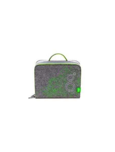 Войлочный кейс для переноса и хранения деревянного магнитного конструктора Tegu