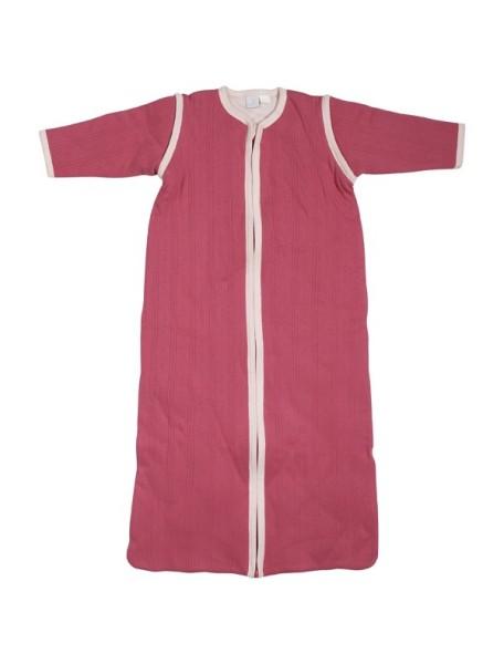 Универсальный спальный мешок со съемными рукавами 70 см Jollein, цвет фуксия/розовый