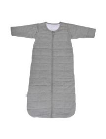 Cпальный мешок со съемными рукавами 70 см Jollein Тог 2,2, цвет светло-серый