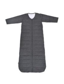 Cпальный мешок со съемными рукавами 90 см Jollein Тог 2,2, цвет темно-серый