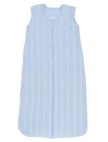 Вязаный спальный мешок Jollein 70 см, цвет светло-голубой