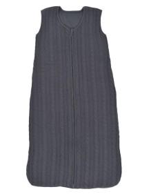 Вязаный спальный мешок Jollein 70 см, цвет антрацит