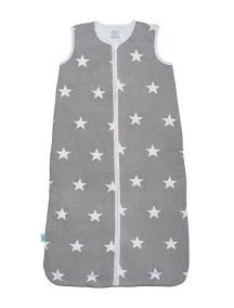 Спальный мешок Jollein 70 см Star grey ( Серые звезды)