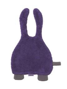Махровый комфортер-платочек Jollein, цвет фиолетовый/серый