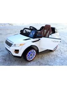 Детский электромобиль Range Rover A 111AA белый Rivertoys