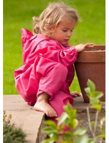 Детский дождевик-непромокайка Хиппичик (на лето) розовый