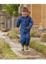 Детский дождевик-непромокайка Хиппичик (на лето) синий
