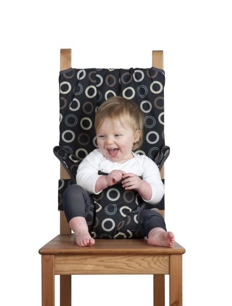 Дорожный стульчик для кормления (Кофейный)