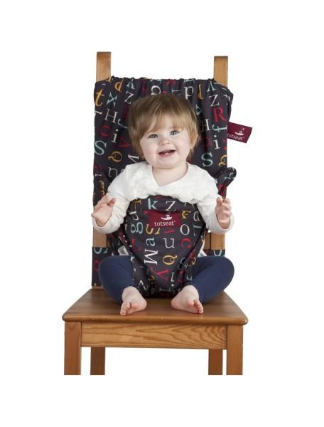 Дорожный стульчик для кормления (Алфавит)