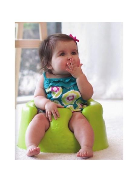 Напольное кресло Bumbo (Бамбо) для детей от 3 до 14 месяцев (цвет Лайм)