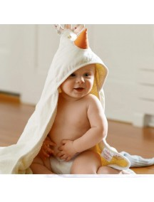 Полотенце с капюшоном детское 3 Sprouts «Цыплёнок»
