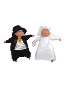 Кукла Caritas (Каритас) Молодожены - невеста