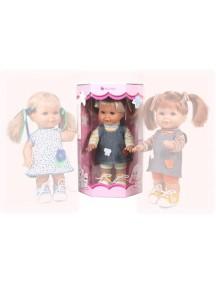 Кукла Betty (Бетти) кофта в светлую полоску