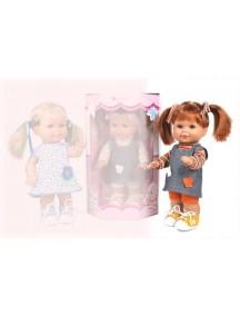 Кукла Betty (Бетти) кофта в яркую полоску