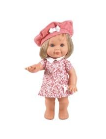 Кукла Betty (Бетти) в красно-белом сарафане