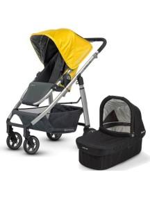 Детская коляска UPPAbaby Cruz (Аппабейби Круз) 2в1 Желтая