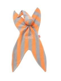 Комфортер Cuski оранжевый в серую полоску/Fizzy