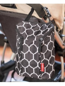 Термо-сумка для бутылочек SKIP HOP Double Bottle Bag Onyx Tile (Оникс)
