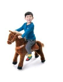 Поницикл Лошадка коричневая средний профессиональный (4-9 лет)