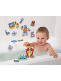 «Роботы» набор для игры в ванне Edushape Robotics