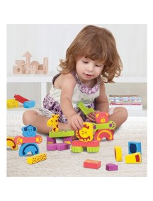 "Конструктор ""Животные"" Edushape Animal Mix N Match Foam Blocks"